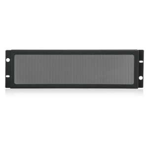 Picture of 19 inch Rack Mount Security Panel 3RU Ebony Black