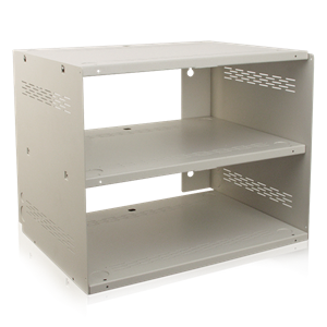 Picture of Wall Mount Shelf / Enclosure System - Finished in Neutral White (#592)