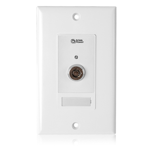 Picture of Wall Plate Key Switch, Hard Contact Closure