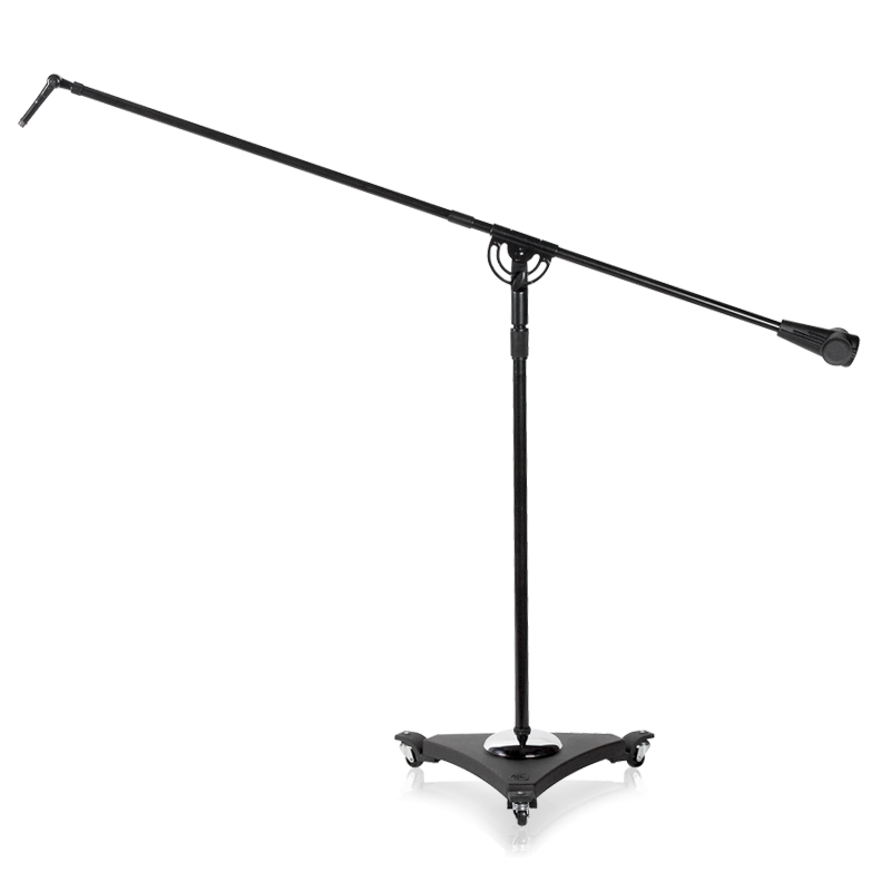 Studio Boom Mic Stands W Air 49 To 73 Ebony Atlasied