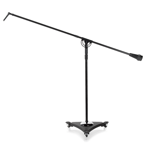 Studio Boom Mic Stands W Air To Ebony AtlasIED - Desk boom mic stand