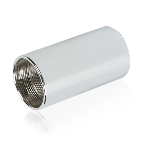 Picture of 7/8 inch #27 Thread Female Coupling Adapter Chrome