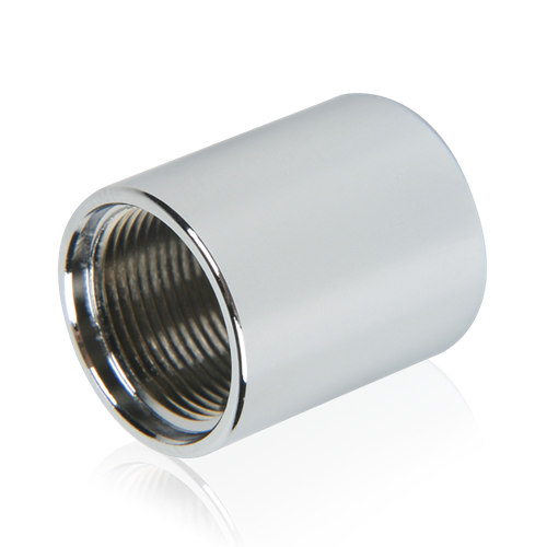 Picture of 5/8 inch #27 Thread Female Coupling Adapter Chrome
