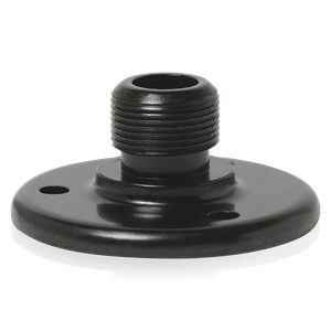 Picture of Surface Mount Male Mic Flange 5/8 inch-27 Thread Ebony Finish