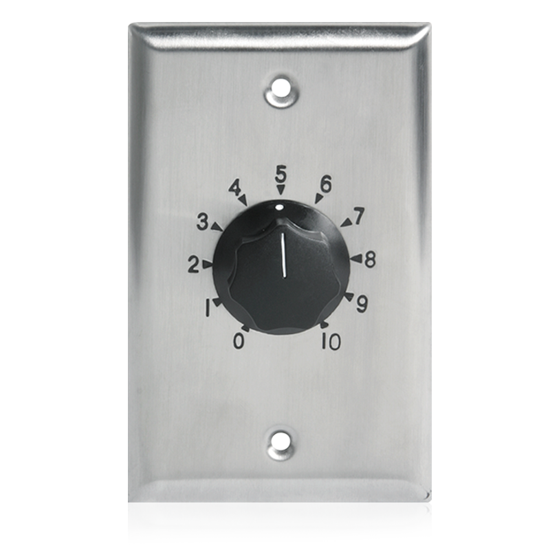 ATL AT35 ATLAS 35-WATT VOLUME CONTROL STAINLESS STEEL 1-GANG