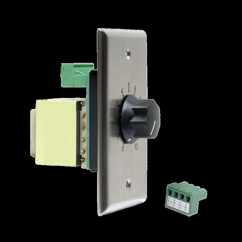 Plate Mount 10 Watt Attenuator With Priority Relay 3db