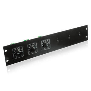 Picture of Attenuator Rack Mounting Plate Holds up to 6 Attenuators