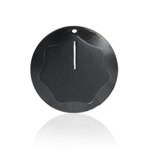 Picture of Skirted Knob; Black; 1-1/4 inch Diameter