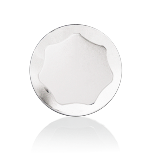 Picture of Skirted Knob; White; 1-1/8 inch Diameter
