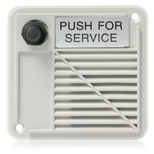 Picture of Outdoor Surface Mount Intercom Stations with Compression Driver and Call Switch 2W 25V