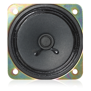 Picture of 3 inch Speaker with 45 Ohm Voice Coil. Magnet Weight 1.47 oz