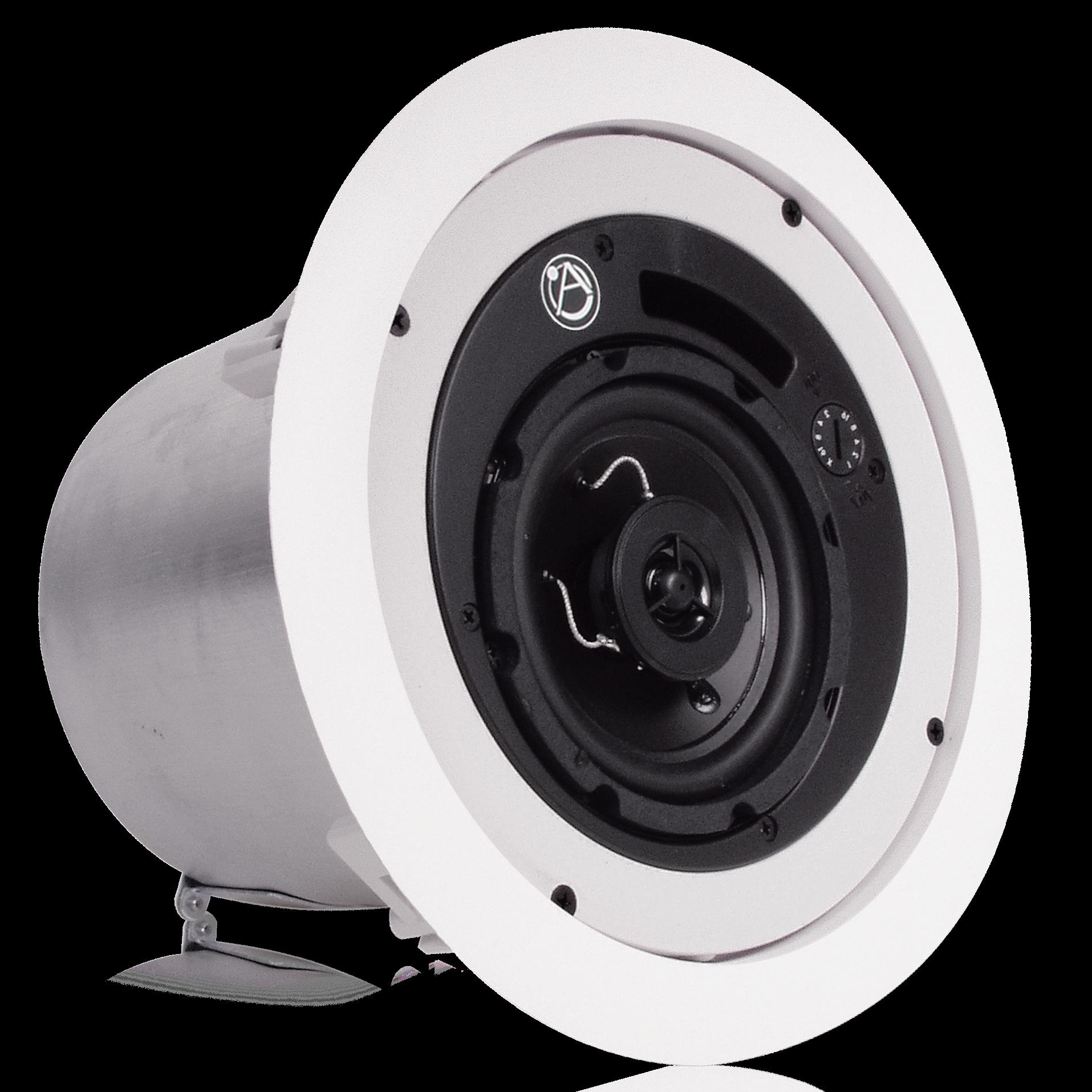 4 Coaxial In Ceiling Loudspeaker With 16 Watt 70 100v Transformer 2 Way Speaker Wiring Diagram And Ported Enclosure Atlasied