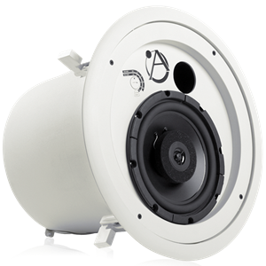 "Picture of 8"" Coaxial In-Ceiling Speaker with 60-Watt 70/100V Transformer and Ported Enclosure"