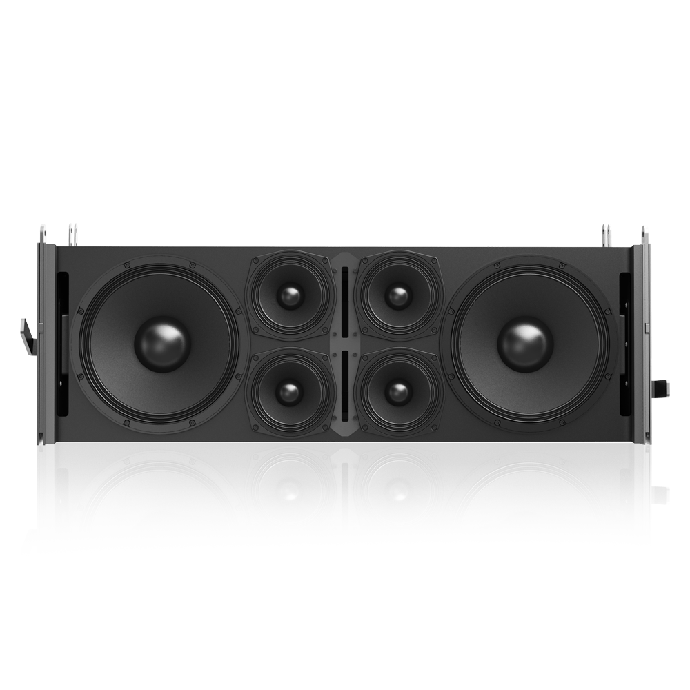 Dual 12 Quot 3 Way 3600 Watt Powered Large Format Line Array