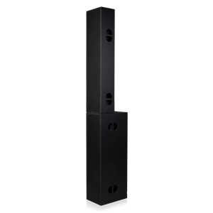 Picture of 3-Way Powered Line Array Speaker System Pair