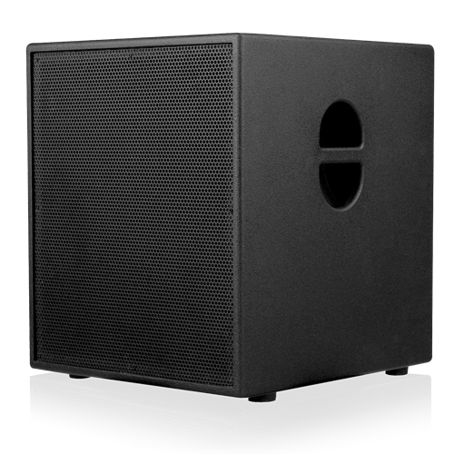 "Picture of 15"" Powered Subwoofer System for Portable Installations - Black"