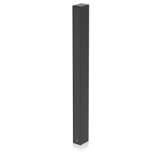 Picture of Medium Length Full Range Line Array Speaker System for Fixed Installation - Black