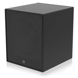 """Picture of 15"""" Powered Subwoofer System for Fixed Installations - Black"""