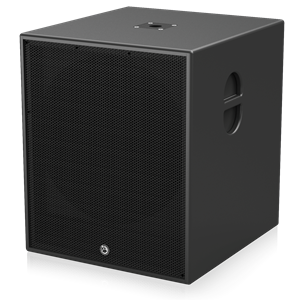 "Picture of 18"" Powered Subwoofer System for Portable Installations - Black"