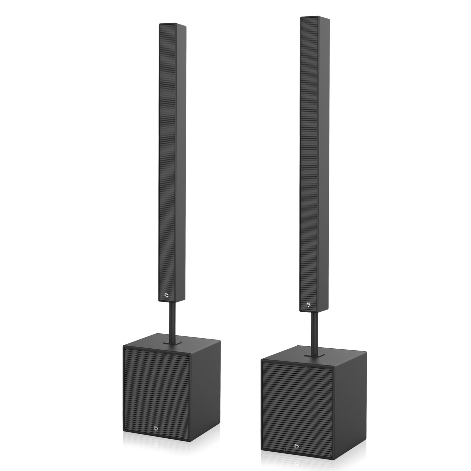 Active Medium Length Line Array Speaker System Atlasied