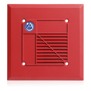 Picture of Voice/Tone Recessed Compression Driver Speaker with 15-Watt 25V Transformer -  Red
