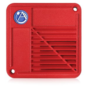 Picture of Voice/Tone Surface Mount Compression Driver Speaker with 15-Watt 25V Transformer - Red