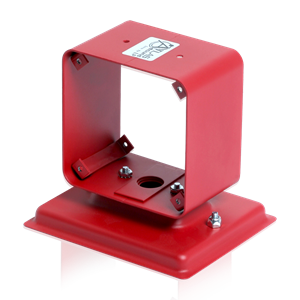 Picture of Twin Housing for Bi-Directional Mounting of 2 Voice / Tone™ Speakers - Red