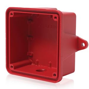 Picture of Surface Outdoor Enclosure - Red for Voice / Tone™ Loudspeakers
