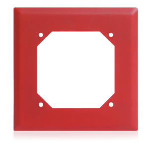 Picture of Semi-Flush Adapter - Red for Voice / Tone™ Loudspeakers