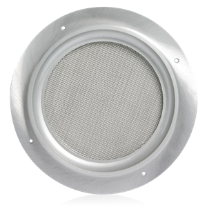 "Picture of Recessed Circular Vandal Proof Baffle for 8"" Speakers and Select Horn Speakers"