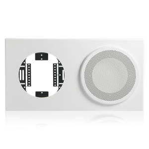 Picture of Baffle for 8 inch Speaker and 8 inch or 9 inch Analog Clock