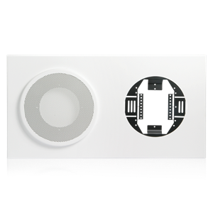 Picture of Baffle for 8 inch Speaker and 12 inch Analog Clock