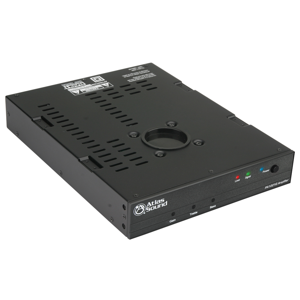 2 Input 100 Watt 70v 100v Single Amplifier With Pole Mount