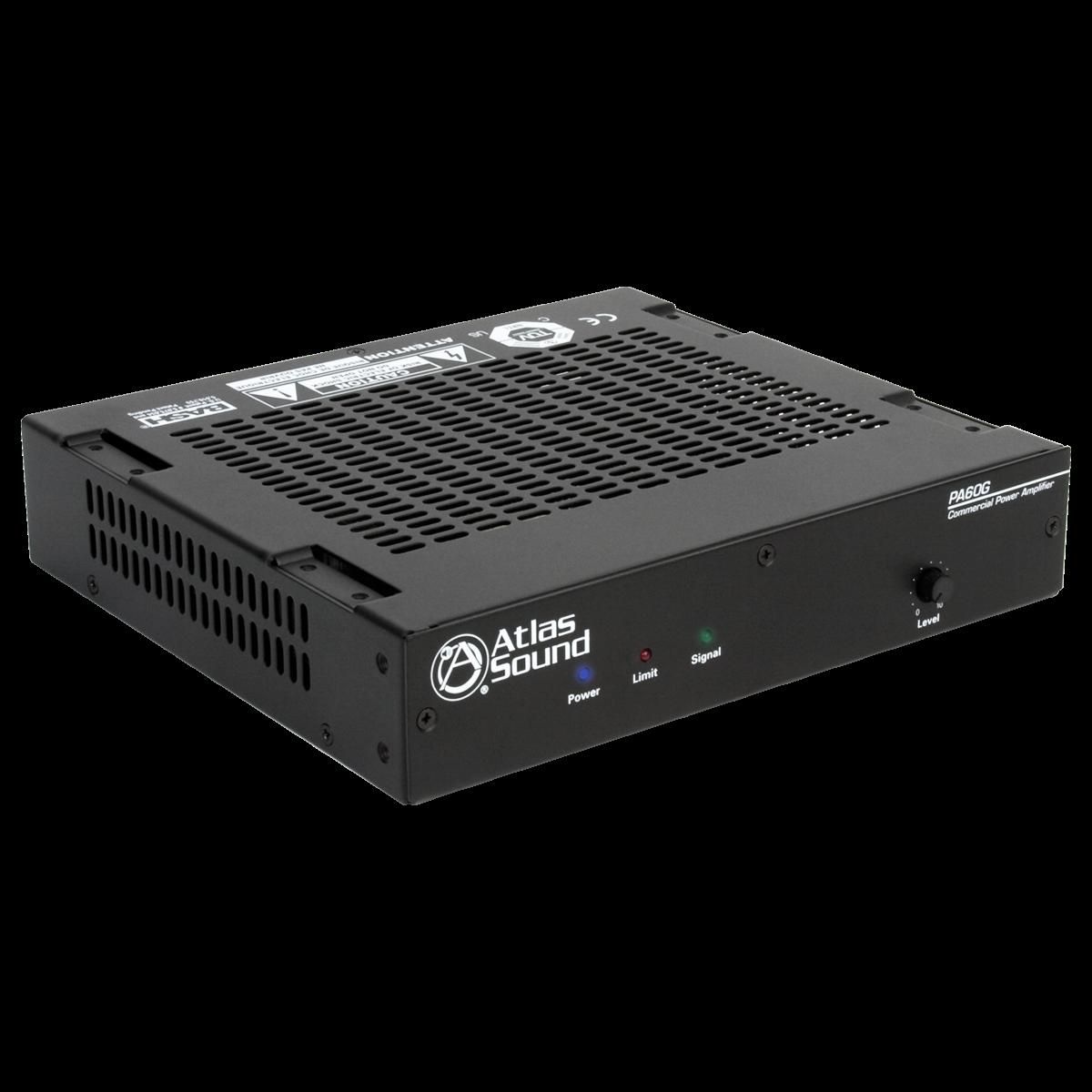 2 input 60 watt single channel power amplifier atlasied. Black Bedroom Furniture Sets. Home Design Ideas