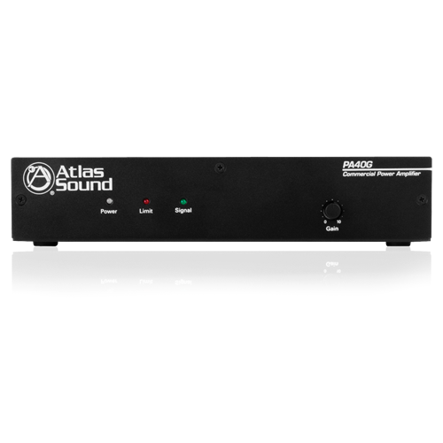 Picture of Single Channel, 40-Watt Power Amplifier with Global Power Supply