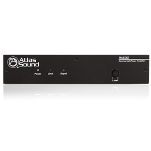 Picture of Single Channel, 60-Watt Power Amplifier with Global Power Supply