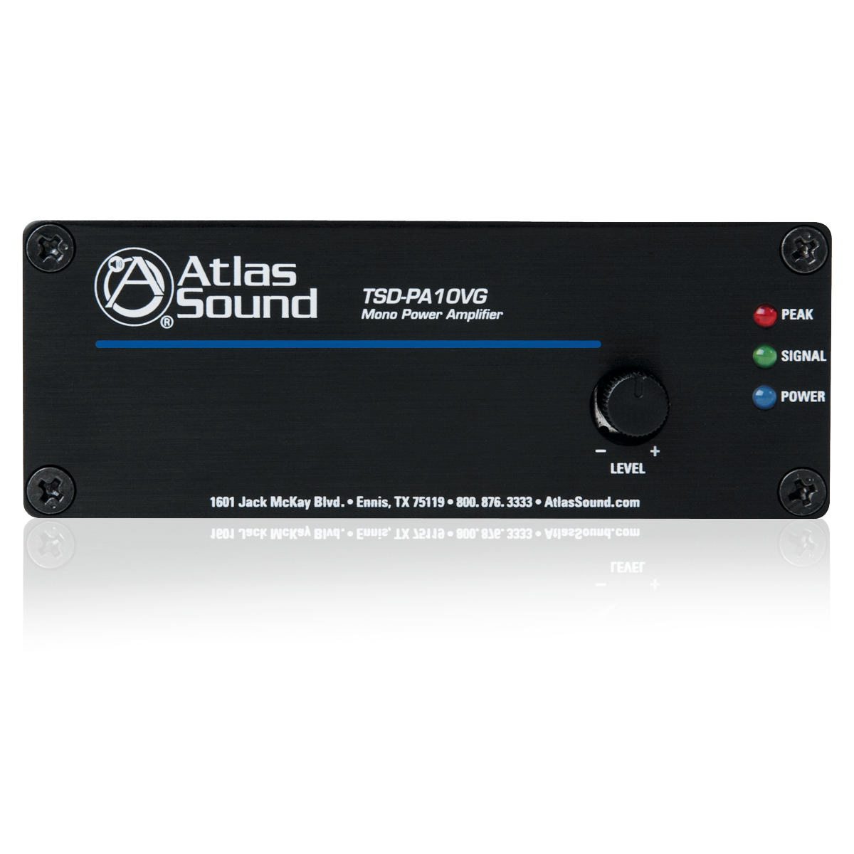 1 input 10 watt 25v 70v 100v 4Ω power amplifier atlasied