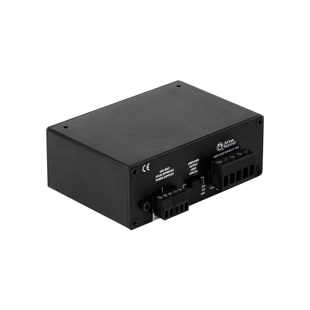 1 Input 10 Watt 25v 70v 100v 4 Power Amplifier Atlasied