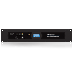 Picture of Dual-Channel, 3200-Watt Commercial Amplifier