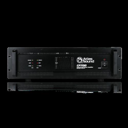 2-Channel, 700-Watt 70V/100V/8Ω/4Ω Commercial Audio Power