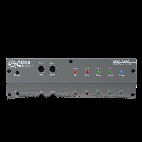 Picture of 2-Channel x 100-Watt 4Ω Networkable Pole Mount Power Amplifier