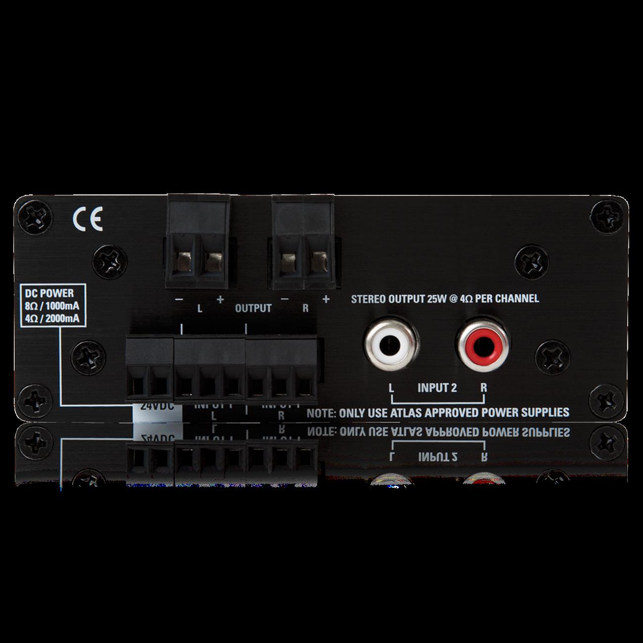 2 Input 50 Watt 2 Channel 4 8 Power Amplifier Atlasied