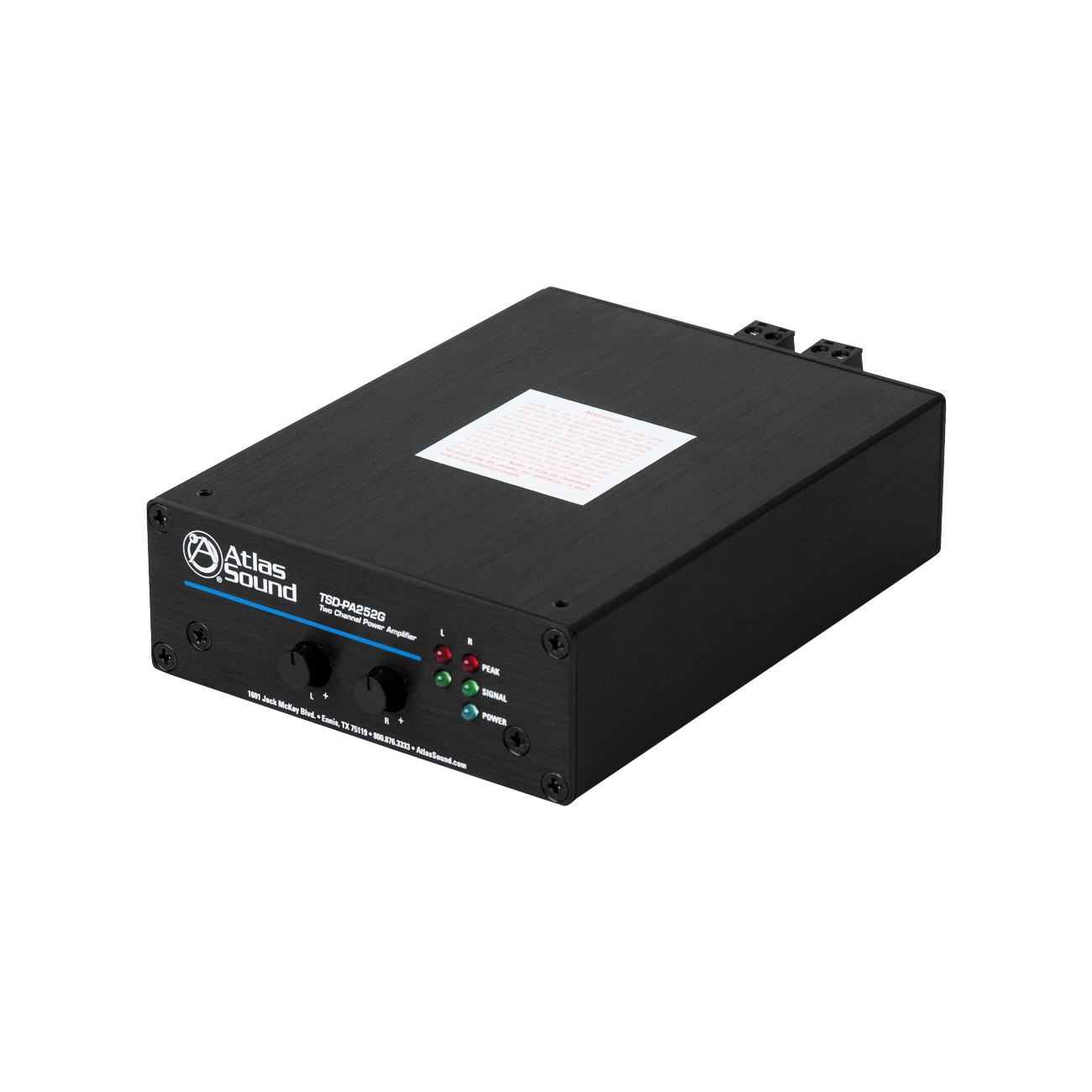 2 Input 50 Watt Channel 4 8 Power Amplifier Atlasied Picture Of 25w X Two