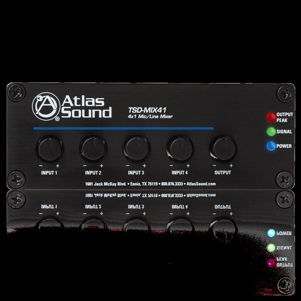 4 x 1 mic line mixer atlasiedMultiple Input Mixer #7