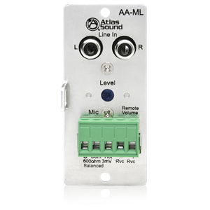 Picture of Mic / Line input module for the AA120M