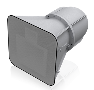 Picture of 3-Way Stadium Horn Speaker with 65° x 65° Coverage Pattern