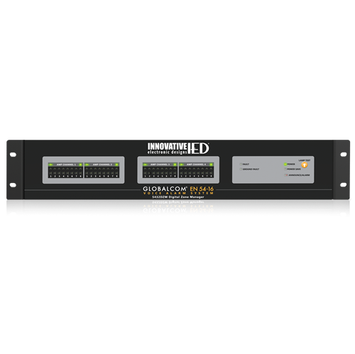 Picture of GLOBALCOM<sup>®</sup> EN54-16 Digital Zone Manager (Up to 32 Zones)