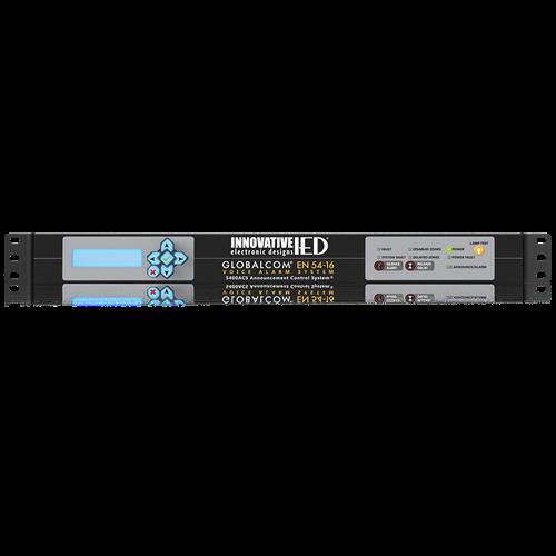Picture of GLOBALCOM<sup>®</sup> EN54-16 LifeLine Announcement Control System