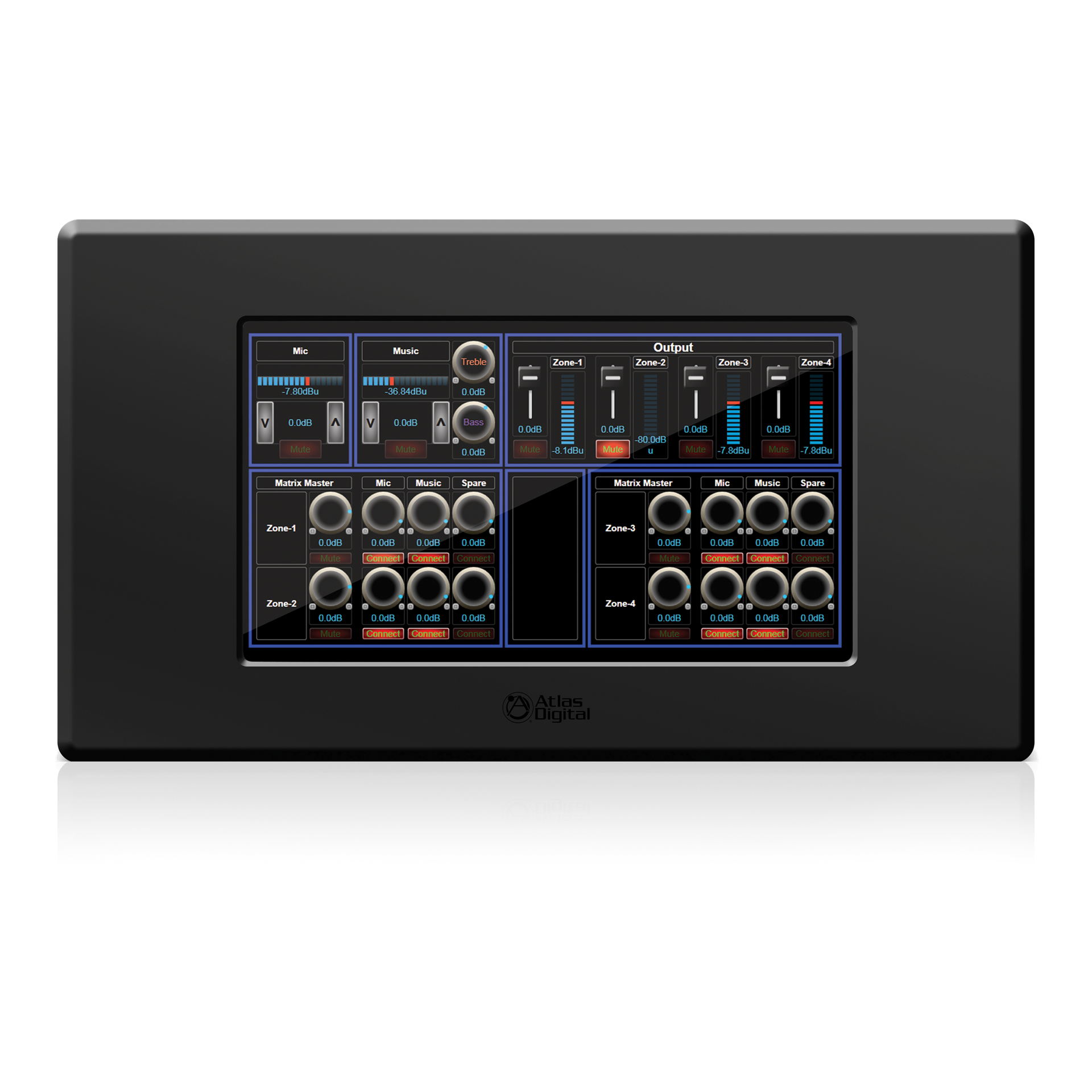 Bluebridge 174 Dsp Wall 7 Quot Touch Panel Atlasied