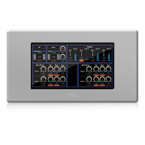 "Picture of BlueBridge<sup>®</sup> 7"" Touch Panel Wall Controller - White"